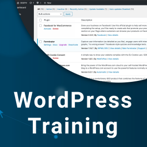 WordPress Training Image