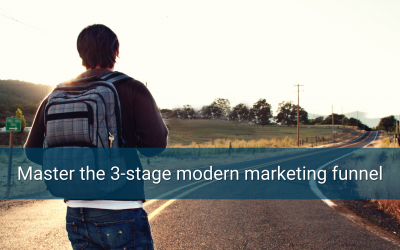Master the 3-stage modern marketing funnel