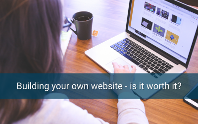 Building your own website – is it worth it?
