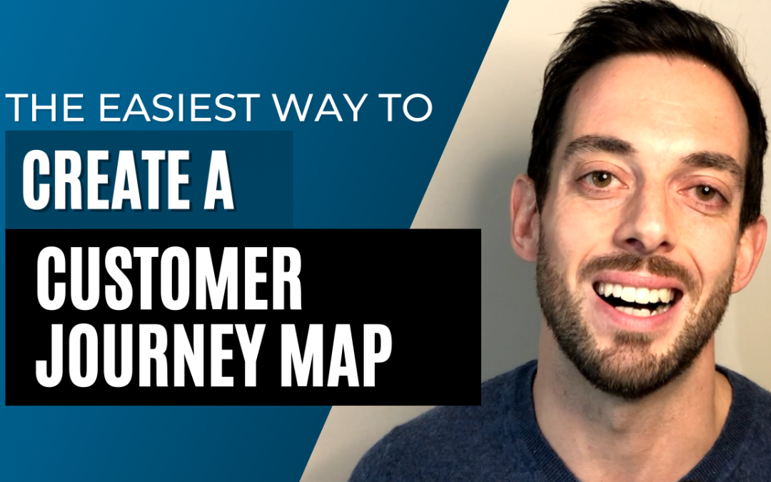The easiest way to create a customer journey map