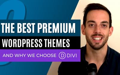 The 3 best premium WordPress themes & why we choose Divi