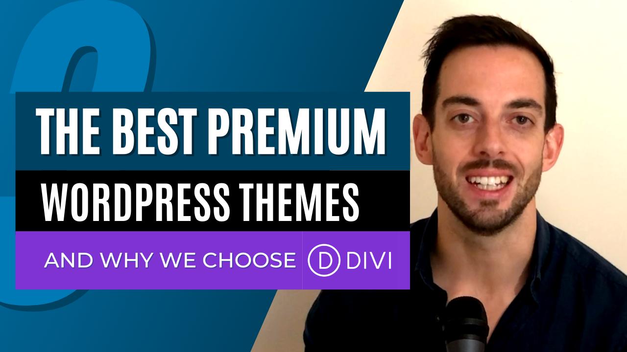 The best premium WordPress themes