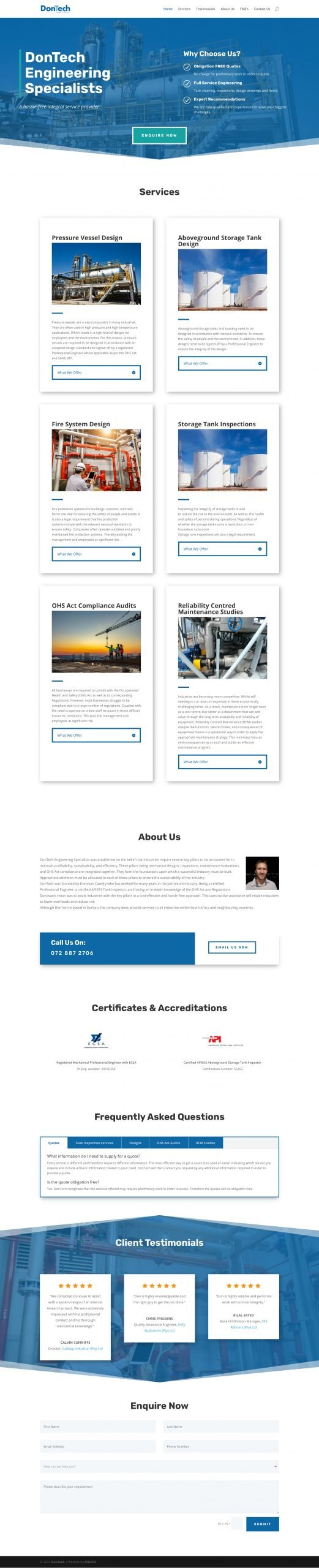 DonTech Homepage