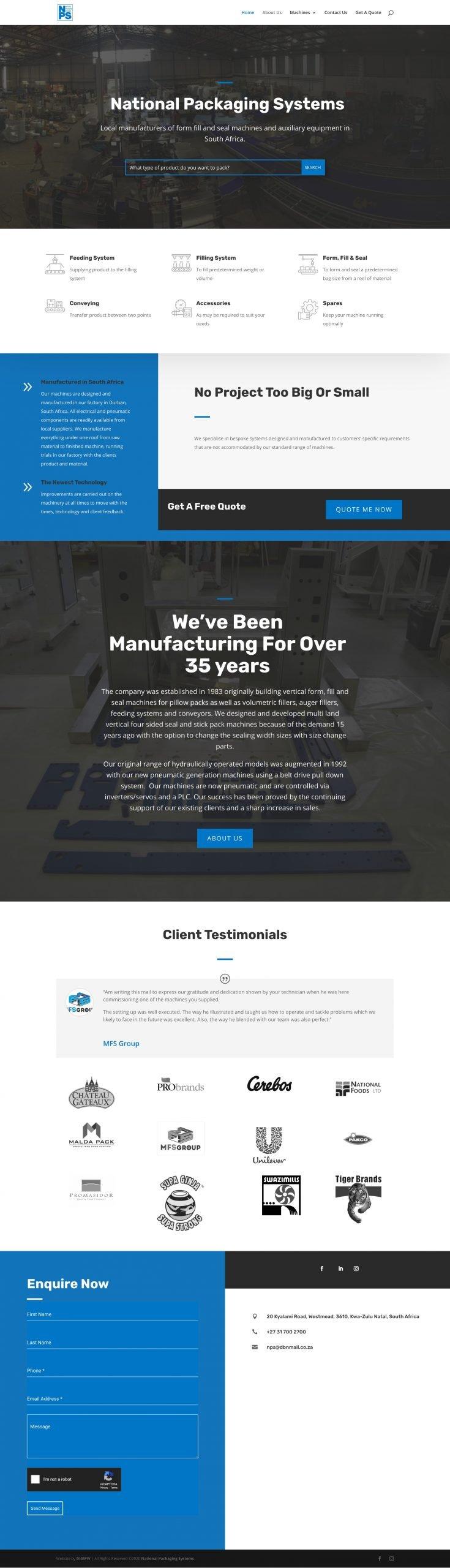 NPS Homepage