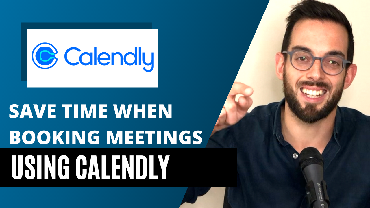 Calendly helps you save time by automatically booking meetings