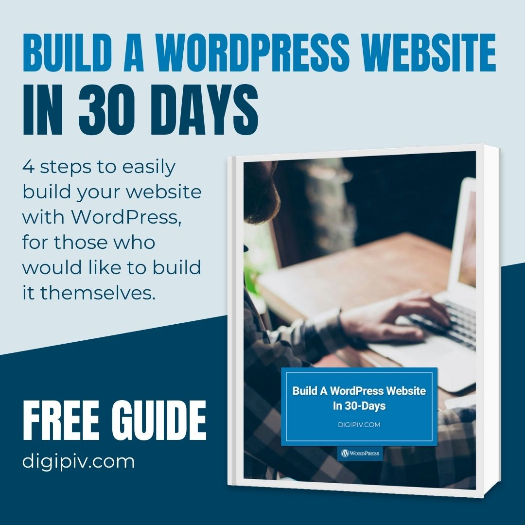 Build a WordPress website in 30 days product image