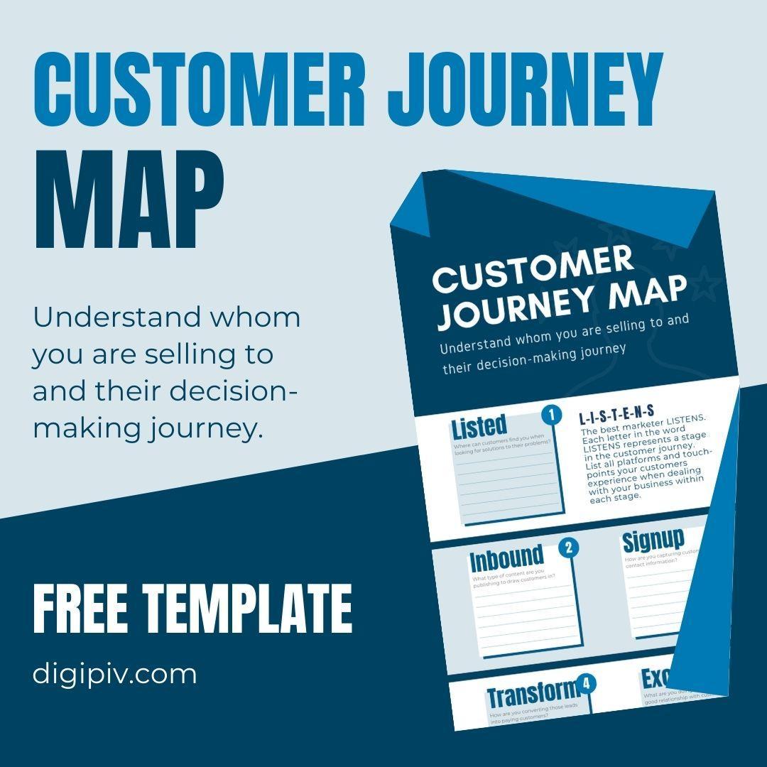 Customer journey map product image